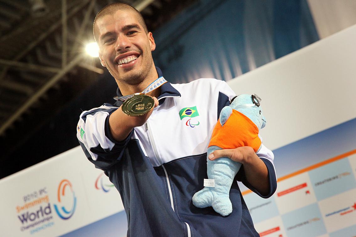 Daniel Dias: seis ouros, em 2012