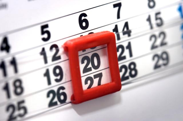 calendário abrill