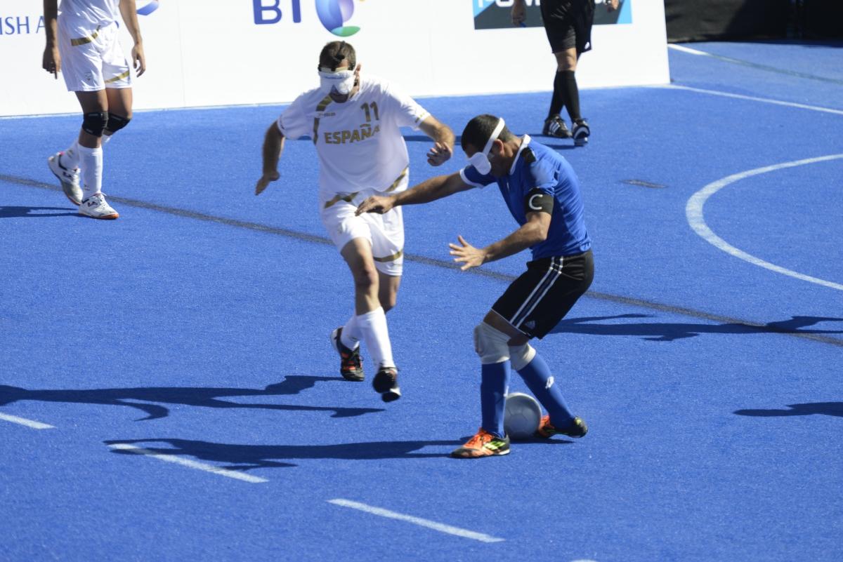 Futebol de 5 Foto IPC Evgeniya Bocharnikova 2