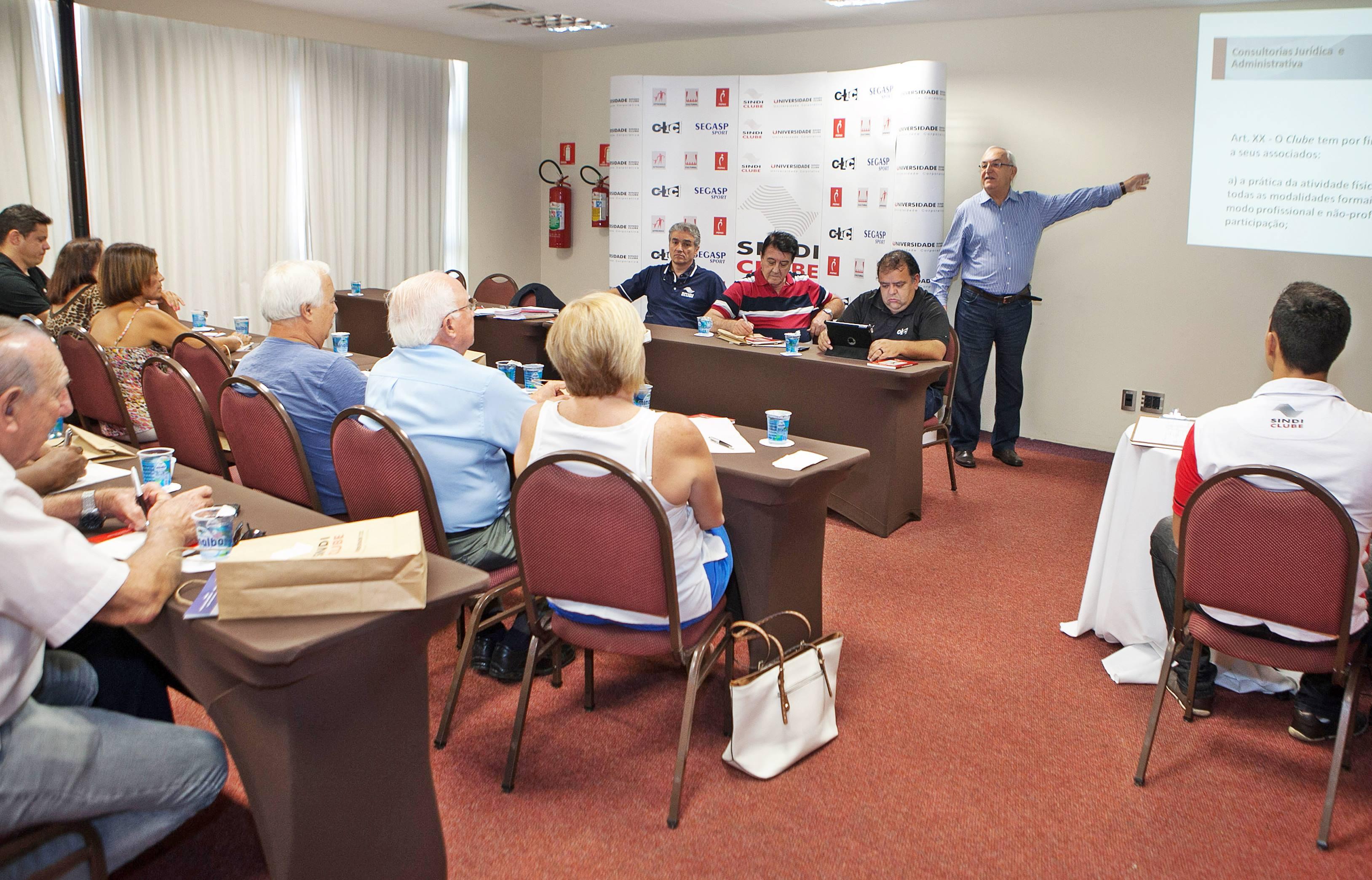 Encontro reuniu dirigentes de Santos