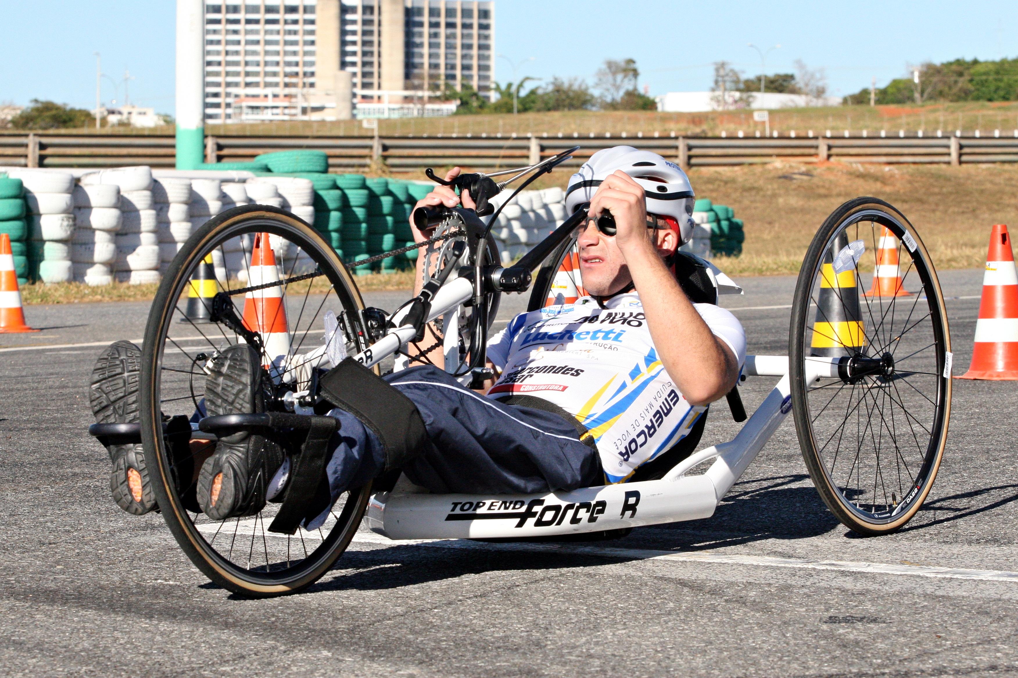 Paraciclismo: pioneiro nos Jogos (Foto: CPB)