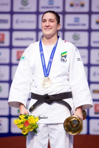 Mayra Aguiar, campeã mundial brasileira de judô - CBJ
