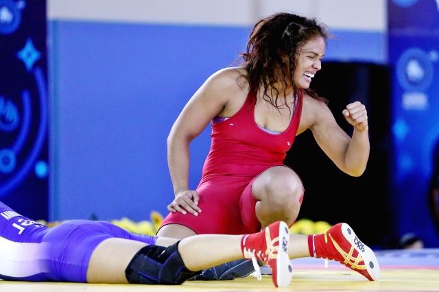 Aline Silva: conquistando medalhas (Foto: CBLA)