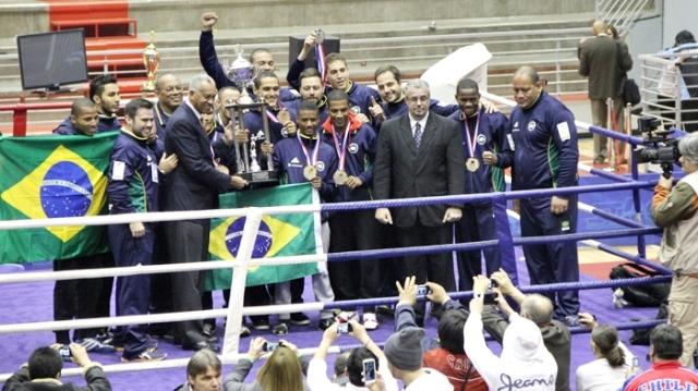 Boxe brasileiro conquistou ótimos resultados internacionais (Foto: CBB)