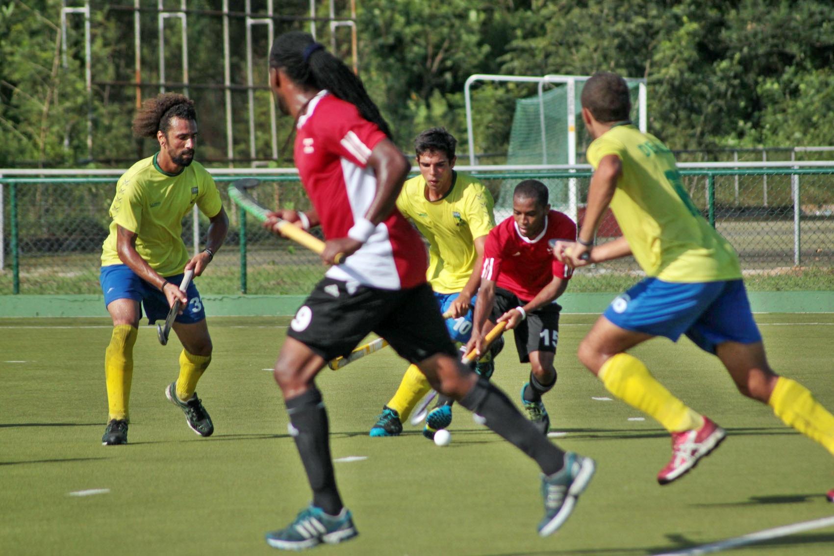 Brasil tentará classificação para Olimpíada (Foto: Divulgação/CBHG)