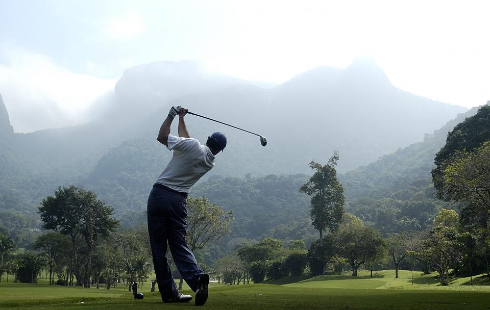 Golfe deixará campo olímpico como legado (Foto: Zeca Resendes)