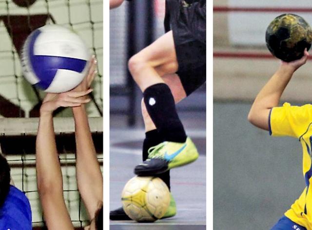 Vôlei, futsal e handebol definem regras do torneio