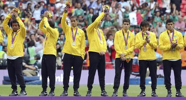 Futebol: prata em Londres, sem ouro em olimpíadas (Foto: Charlie Riedel)