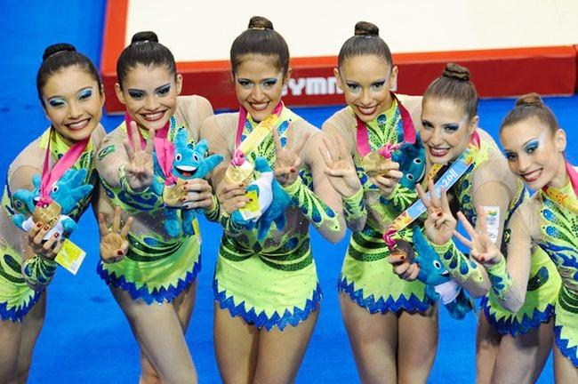 Seleção brasileira: três ouros no Pan (Foto: Luiz Pires)