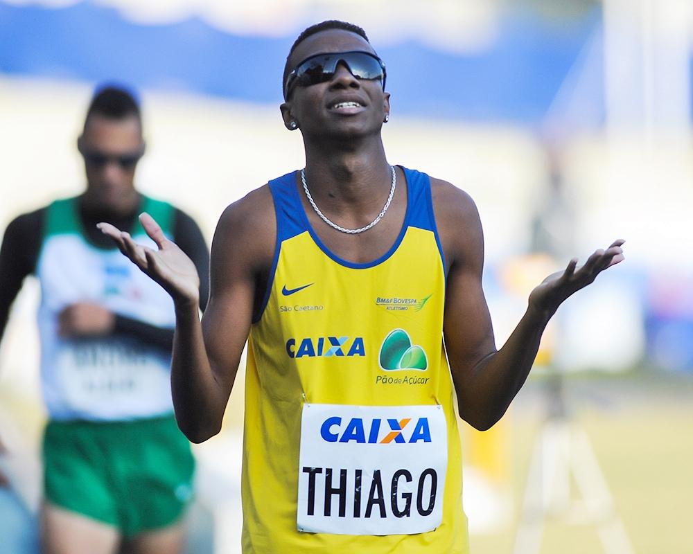 Thiago André: grande revelação do atletismo (Foto: Divulgação/ Contrapé)