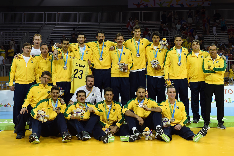 Seleção masculina: prata no Pan. (Foto: CBV)