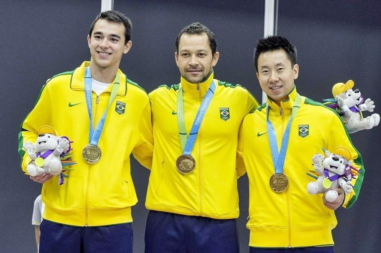 Brasil: equipe masculina é ouro (Foto: Divulgação Brasil 2016)
