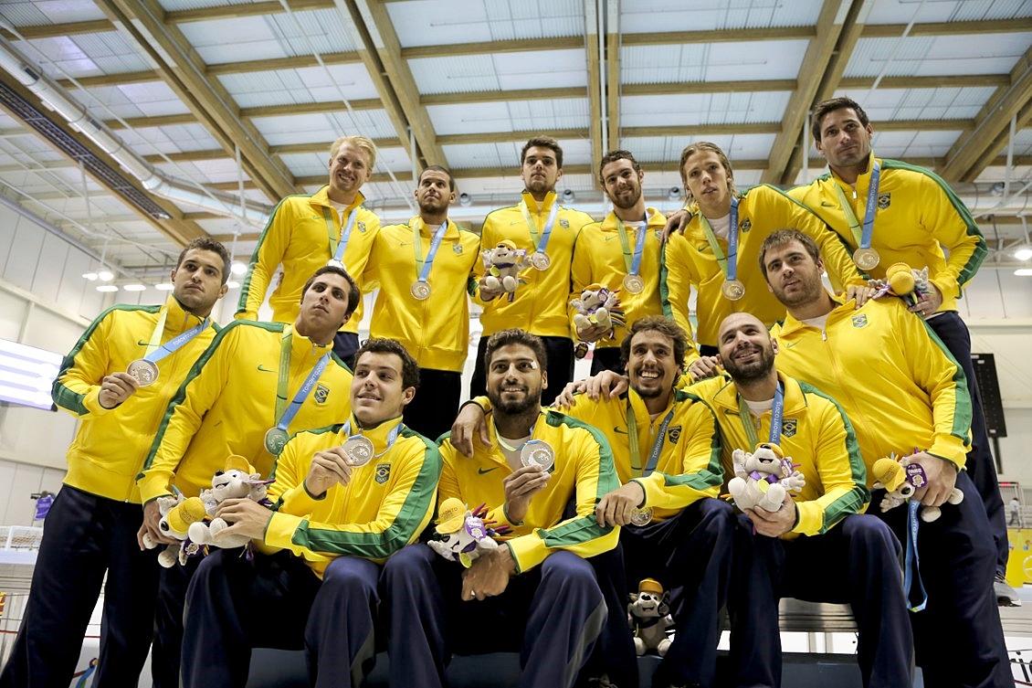 Time masculino: prata no Pan (Foto: Brasil2016.gov.br)